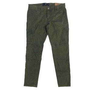 Hollister Crop Cargo Utility Pants